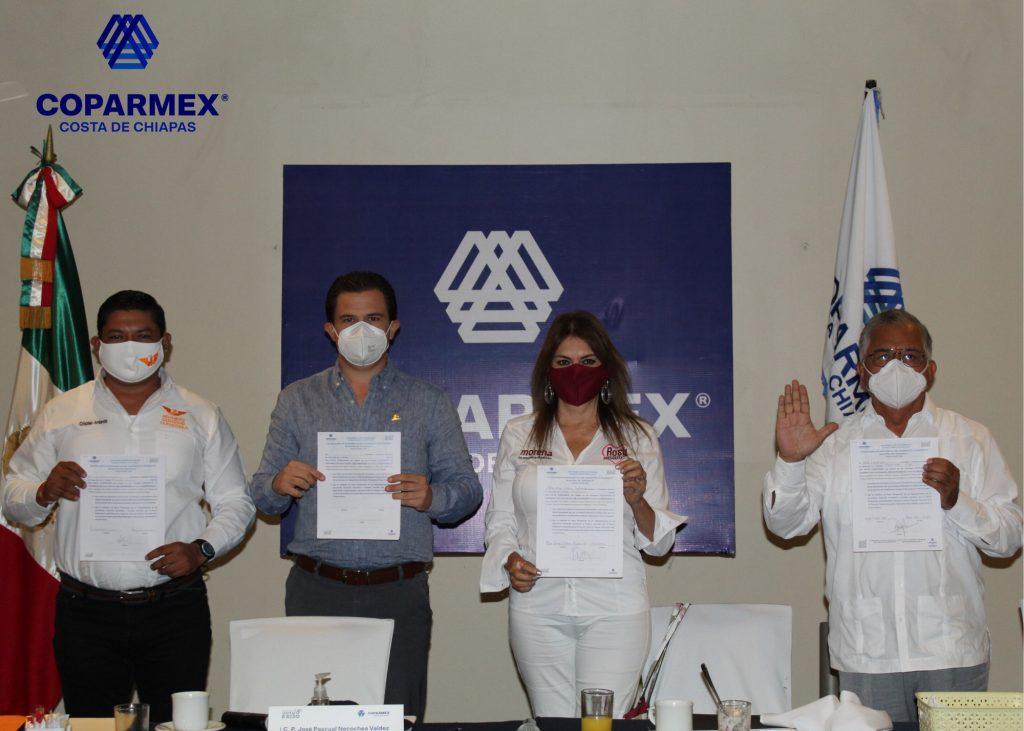 Candidatos que firmaron Manifiesto México
