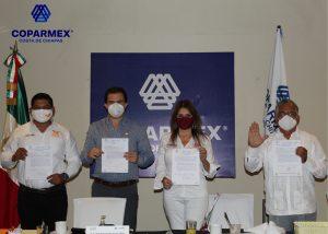 Firman Candidatos a Presidente Municipal de Tapachula Manifiesto México